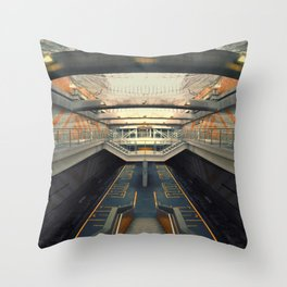 Petare Subway Throw Pillow