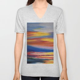CLEARANCE IN THE PAINT AISLE Unisex V-Neck