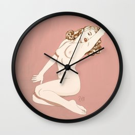 Pinup - Marilyn Wall Clock