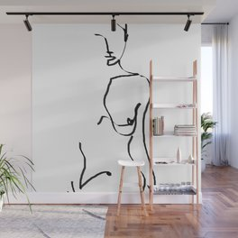 abstract nude Wall Mural