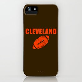 Cleveland Football iPhone Case