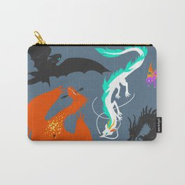 A Flight with Dragons Carry-All Pouch
