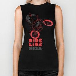 ride like hell Biker Tank