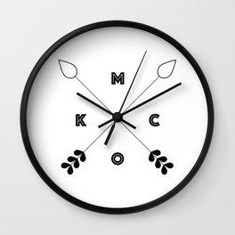 KCMO Kansas City x Arrows Wall Clock