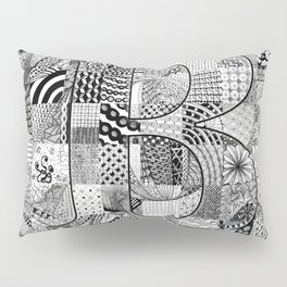 The Letter B Pillow Sham