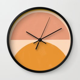 autumn sunshine 3 Wall Clock