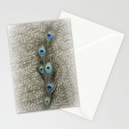 Peacock Summer Stationery Cards