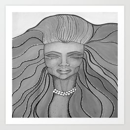 Feel The Wind Art Print