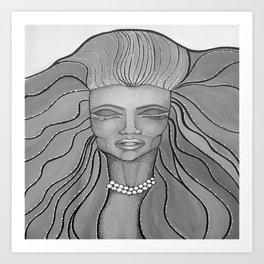 Feel The Wind Art Print
