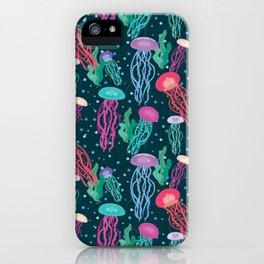 Dancing in the Deep Sea iPhone Case