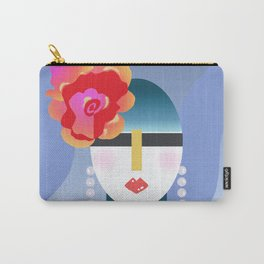 Big Blossom Carry-All Pouch
