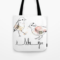 i like you Tote Bag