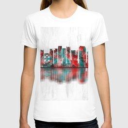 Rio de Janeiro Brazil Skyline T-shirt