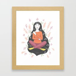 Peace and Pain (either/or/both) Framed Art Print