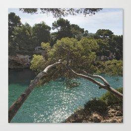 Tranquil Bay at Mallorca Island Canvas Print