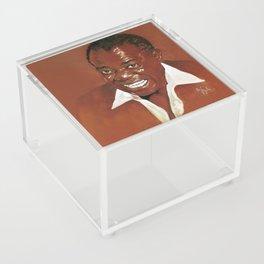 Louis Armstrong Acrylic Box