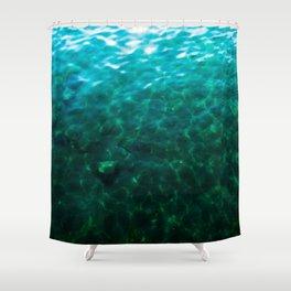 Dioptase Deeps Shower Curtain