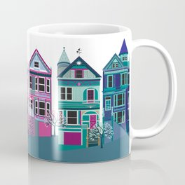 San Francisco Houses - Painted Ladies Coffee Mug