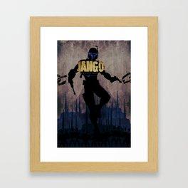 Jango Unchained Framed Art Print