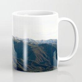 Topa Topa With Snow Coffee Mug