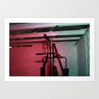 psychology Art Prints featuring Psychology of Crime 03 by Michael Swann