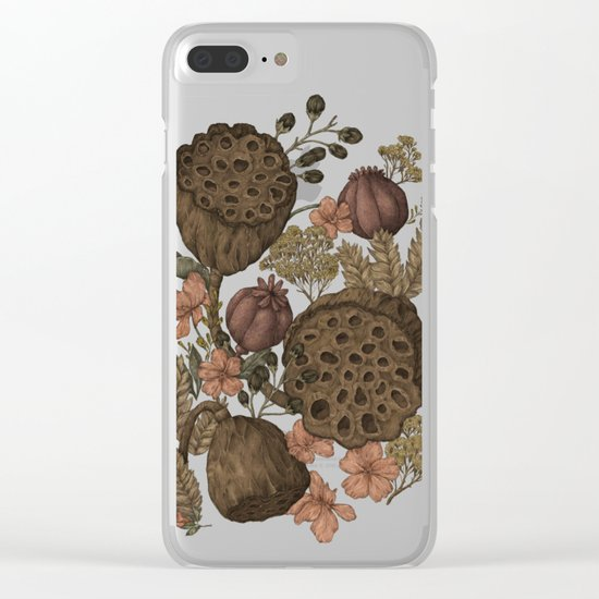 Botanic Garden Clear iPhone Case
