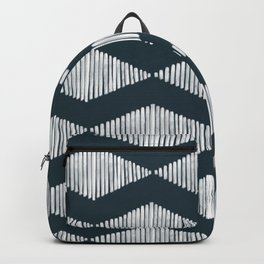Acoustic Wave Navy Backpack