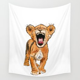 Free the Tiger in You Wall Tapestry