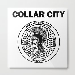 City of Trojans Metal Print