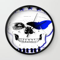 brand new Wall Clocks featuring new Brand Younisi Skull by DL-Marketing Design