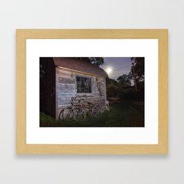 Moonlight Ride Framed Art Print