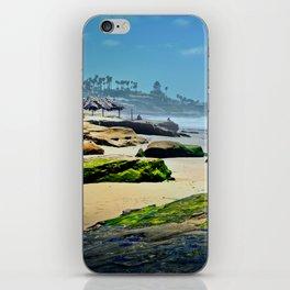 Emerald Rocks iPhone Skin