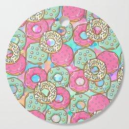 Sweet Donuts Cookies Cutting Board