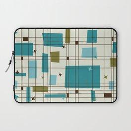 Mid-Century Modern (teal) Laptop Sleeve