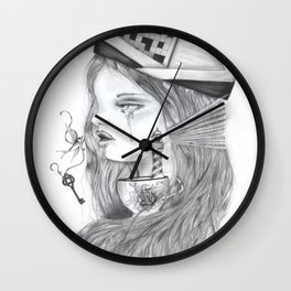 Storm in a tearcup Wall Clock