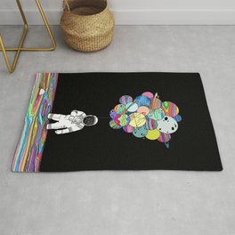Space delusions Rug