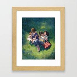 Sunday Afternoons Framed Art Print