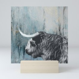 Highland Bull Mini Art Print