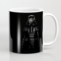 darth Mugs featuring Darth Magritte by Billy Allison