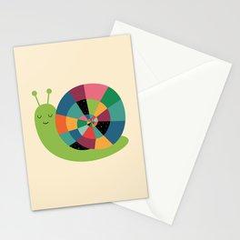 Snail Time Stationery Cards