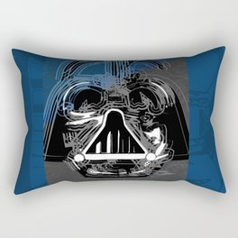 Darth Vader the Grey Rectangular Pillow