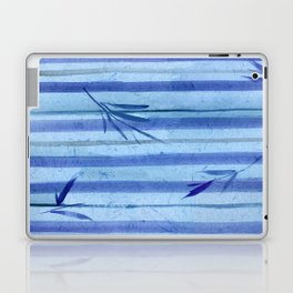stripes blue rondo Laptop & iPad Skin