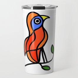 Bird on a Twig Travel Mug