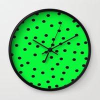 kiwi Wall Clocks featuring Kiwi by TheseRmyDesigns