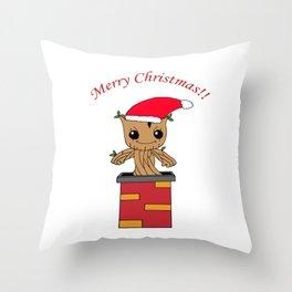 Christmas Baby Tree Throw Pillow