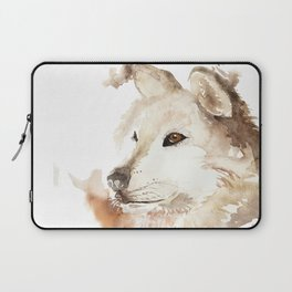 Wolf in the Mist Laptop Sleeve