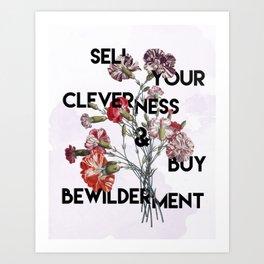 Flower Wisdom Art Print