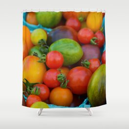 Lycopene Shower Curtain