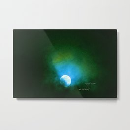 """Suspension Moon #64"" Metal Print"