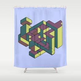 Interval Shower Curtain